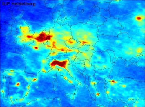 kaart-europa-luchtvervuiling